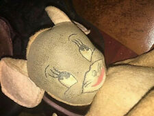 New listing antique vintage cloth doll toy Mouse Only tom & jerry cartoon tv character
