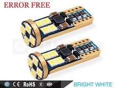 BMW E46 E90 E91 E87 E53 BRIGHT WHITE LED SIDE LIGHT Bulbs ERROR FREE 12SM
