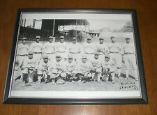 1930s CHICAGO AMERICAN GIANTS NEGRO LEAGUE FRAMED PRINT