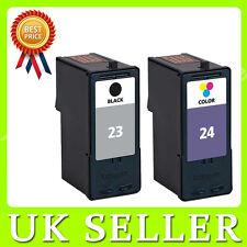23 & 24 Ink Set for Lexmark X4500 X3550 X4550 Z1410 Z1420