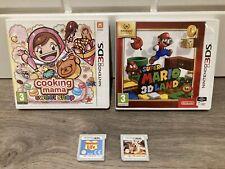 NINTENDO 3DS 2DS Paquete De Juegos X 4 incl Mario 3D Land, Tomodachi Life, Nintendogs