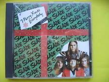 SLADE-MERRY XMAS EVERYBODY. 3 TRACK CHRISTMAS CD SINGLE. GLAM ROCK. EX CON