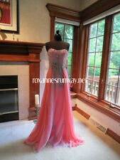 Party Time Formals 6520 Lilac Lace Chiffon Prom Gown Dress sz 6 NWT