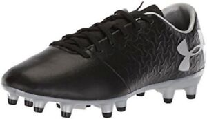 Under Armor Magnetico Youth Soccer Cleat - Black