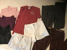 TEEN /WOMEN LOT OF 8 MIXED CLOTHES SIZE  JR  SMALL Ex Small
