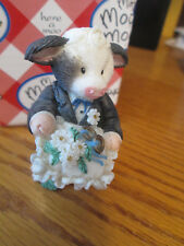 "Mary's Moo Moos ""Ring Bearer"" Figurine #167568"