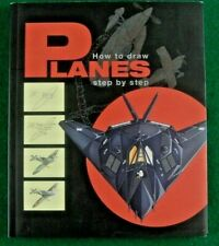 Book: HOW TO DRAW PLANES step by step.(paperback 2014).