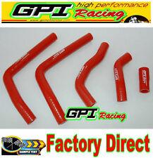 HONDA CR125 CR 125 2005-2008 2006 2007 05 06 07 08 silicone radiator hose red