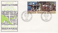Papua New Guinea First Day Cover 1982 Centenary Of Catholic Church Ng Scott #570