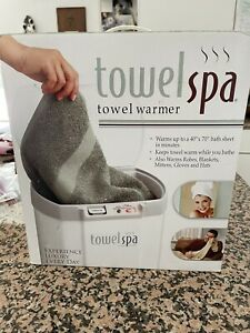 Towel Spa Warmer Heater Towel Blanket Robe By Innovations Direct Model 50001 NIB