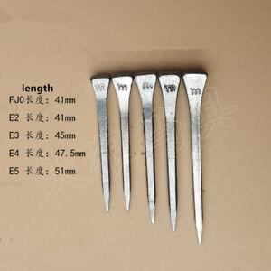 100pcs/pack Stainless Steel Horseshoe Nails 41-51mm Horsemanship Tool Nail