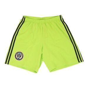 Philadelphia Union MLS Men's  Signal Green Climaliate Condivo 18 Team Shorts