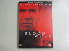 BLOOD WORK - DVD