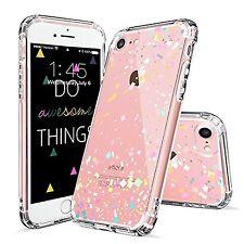 COLORFUL CONFETTI New Cute Bumper Clear Protective TPU Case Cover for iPHONE 7