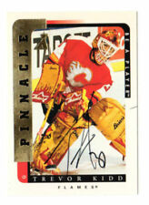 Pinnacle Autographed Single Hockey Trading Cards