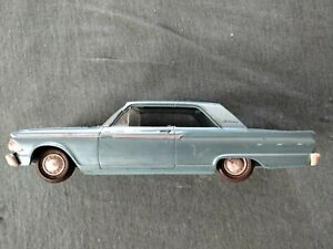 1962 FORD FAIRLANE 500 PROMO MODEL- FOR PARTS OR RESTORE-1/25 SCALE