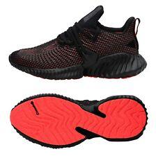 bca641c0c9d5e Adidas Men Alpha-bounce Instinct Shoes Running Black Sneakers Boot Shoe  D96536