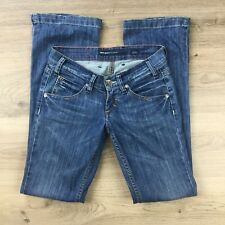 Miss Sixty Women's Jeans Ex Love Boot Cut Size 24 Actual W27 L31.5 (BL2)