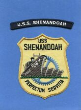 USS Shenandoah AD 26 Navy Jacket Patch with Shoulder Tab Variety