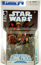 Darth Talon & Cade Skywalker Star Wars Expanded Universe Comic Action Figure 2 P