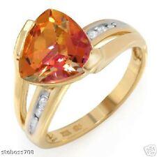 Ring Genuine Diamonds and Topaz *******Compare:$1199.00