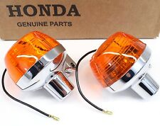 OEM Honda Turn Signals CB CL175 350 450 500 750 Front Or Rear (See Notes) #C13