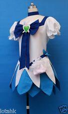 HeartCatch PreCure! Erika Kurumi Cosplay Costume Custom Made