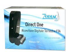 MINI RICEVITORE DIGITALE TERRESTRE RETRO TV SCART Free To Direct One
