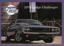 1970 Dodge Challenger, Dream Machines, Cars, Trading Card, Auto - Not Postcard