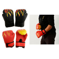 2 Pair Kids Boxing Gloves Punch Bag Mitts for Youth Boy Girl MMA Kickboxing