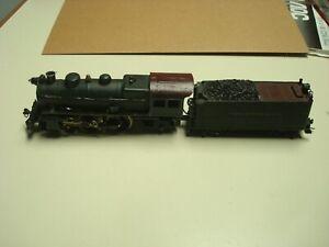 Bowser / Pennline 4-4-2 locomotive with tender PRR