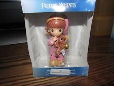 New Christmas Ornament NIB Precious Moments Girl with Gingerbread