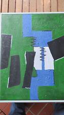 "Gemälde ""Rheintal"" nach E.Kaufmann 50x40cm,Original Acryl-Arbeit."