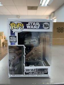 Funko POP! Star Wars HAN SOLO in CARBONITE Figure #364 w/ Protector