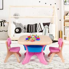 Sitzgruppe Kinder 3tlg Kindersitzgruppe Kindertisch mit Stühle Kindertischgruppe