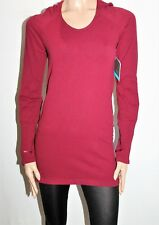 NUX USA Brand Cranberry Selene Hoodie Active Sweater Top Size M BNWT #Si104