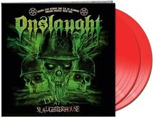 ONSLAUGHT - LIVE AT THE SLAUGHTERHOUSE (GTF.RED 2-VINYL)   VINYL LP NEU