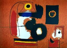 Joan Miró - Offset Plate Signed Lithograph Print on Arches Paper 96/150