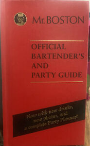 Mr Boston Official  Bartenders and Party Guide HC