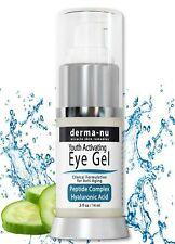 Eye Wrinkle Cream By Derma-nu - Anti Aging Eye Gel Treatment for Dark Circles