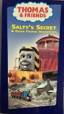 THOMAS & FRIENDS-SALTY'S SECRET & OTHER THOMAS ADVENTURES,VHS,2002-TESTED RARE