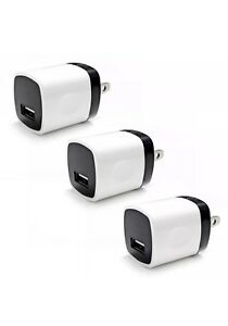 3x USB Wall Charger Power Adapter AC Home US Plug FOR Samsung LG iPhone 6 7 8 X