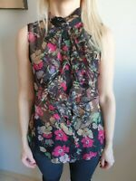 Womens Ralph Lauren  sheer Blouse Top size S/38/UK10 Very Good Condition