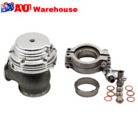 MVS 38mm 14PSI Bov External Turbo Wastegate With V-band Flanges Silver