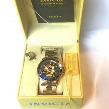 Invicta 40mm Garfield LE Pro Diver Quartz 18KGP Stainless Steel Watch 27424