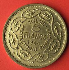 Essai , 5 Francs Maroc 1946