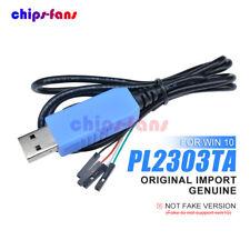 Genuine PL2303TA USB a TTL RS232 Cable de Descarga Compatible WIN10 para AVR/ARM