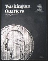 Whitman Washington Silver Quarter 1932 25 Cents Folder Album Book 1932 - 1947