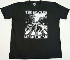 The BEATLES T-shirt ABBEY ROAD Distressed Licensed Tee Adult Men's XL New