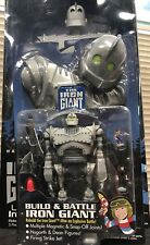 The Iron Giant BUILD & BATTLE Mint On Sealed Card Warner Bros Trendmasters 1999
